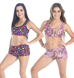 Gia Mia Swirls Bra Top G264