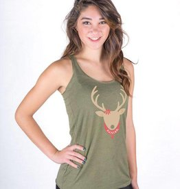 covet Holiday Reindeer Tank AXL