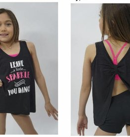 Trendy Trends Leave Sparkle Tank 3502SP
