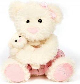 Dasha Bear w/cub Plush 6255