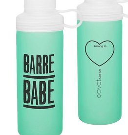 covet Barre Babe Glass Water Bottle BB-GWB
