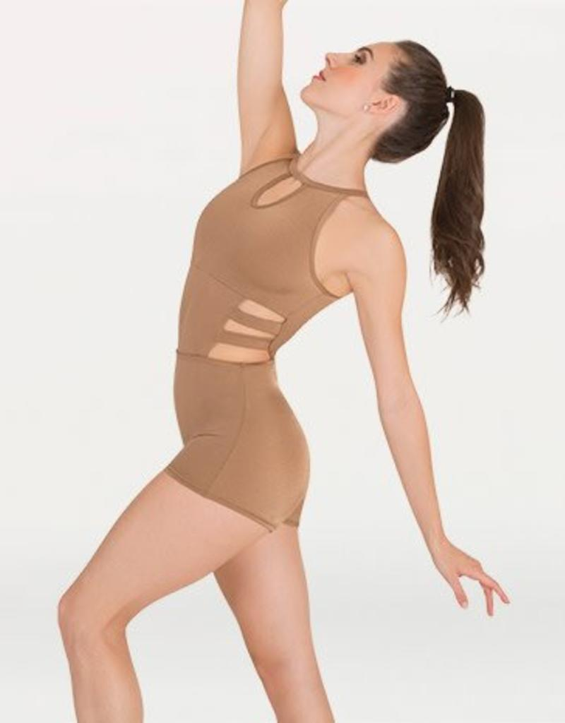 Body Wrappers Keyhole Unitard P1131
