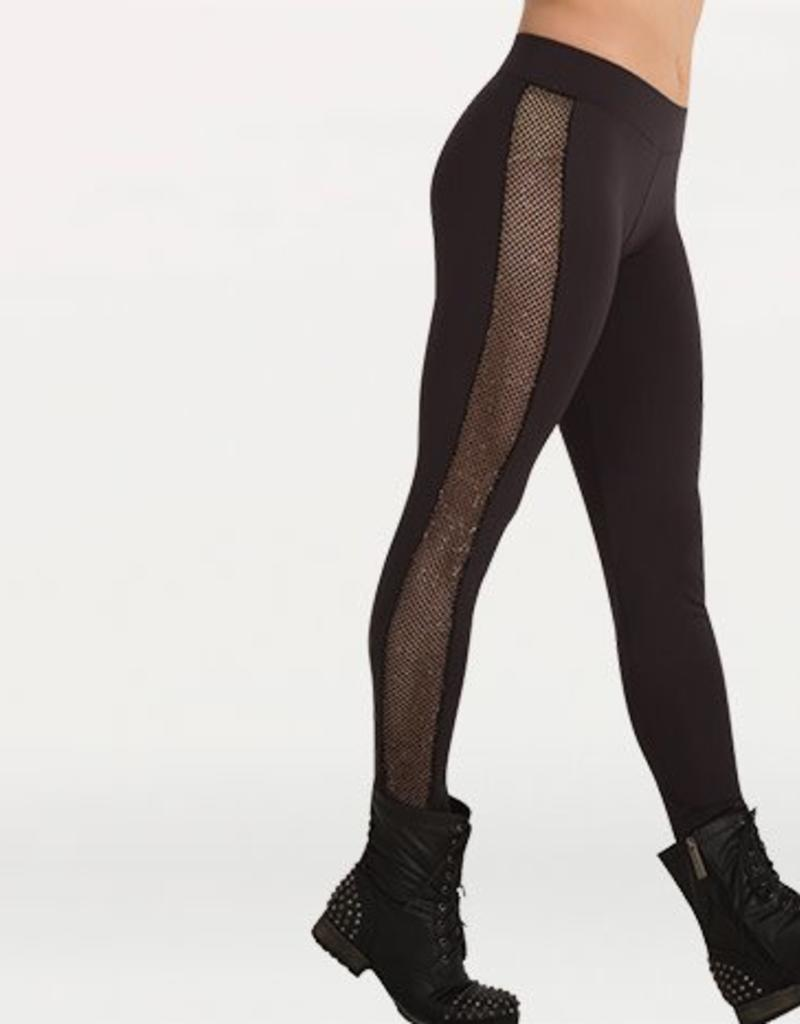 Body Wrappers Glitter Mesh Legging Adult K252 / 7272