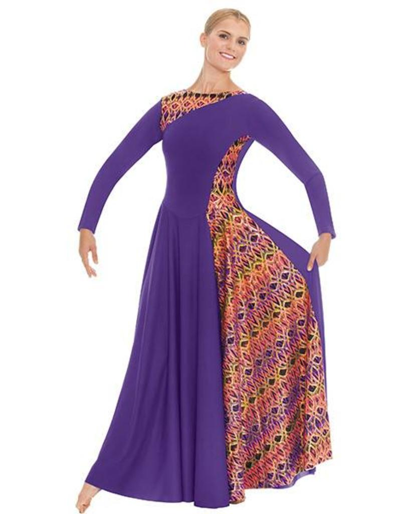 Eurotard Joyful Praise Asymetrical  Dress 63867