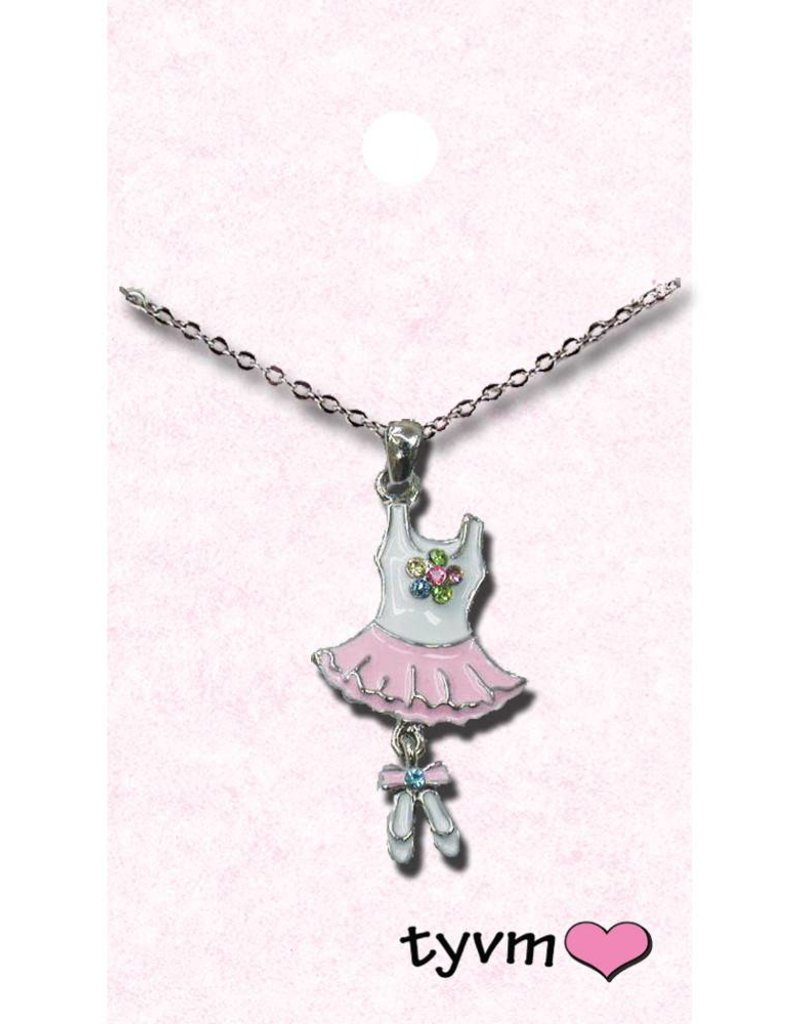 TuTu and shoes Necklace 79512