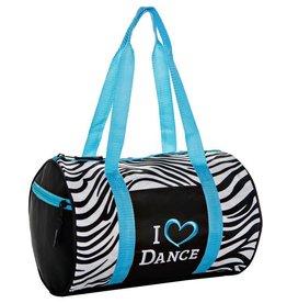 Zebra Dufflel Blue