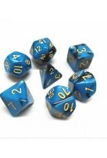 HD Dice, LLC. Blend Blue-Black Poly Dice (7)