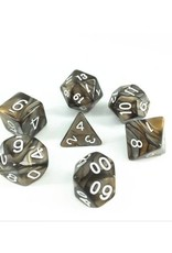HD Dice, LLC. Blend Gold-Silver Poly Dice (7)