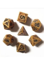 HD Dice, LLC. Ancient Gold Poly Dice (7)