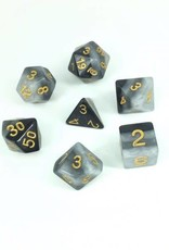 HD Dice, LLC. Gradient Gray-White Poly Dice (7)