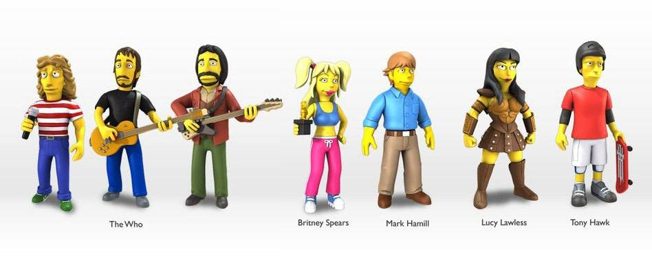 Simpson's 25th anniversary Mini Figure S2