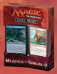 Wizards of the Coast Mtg Duel Decks: Merfolk vs Goblins