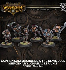 Captain Sam MacHorne & The Devil Dogs - Mercenary Character Unit (6)