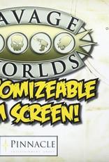 Savage Worlds RPG: Customizable GameMaster Screen