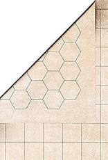 "Chessex Megamat Battlemat Chessex 34x48 1"" hex/squares"