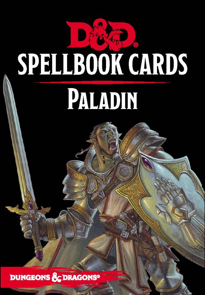 D&D 5e Spellbook Cards Paladin