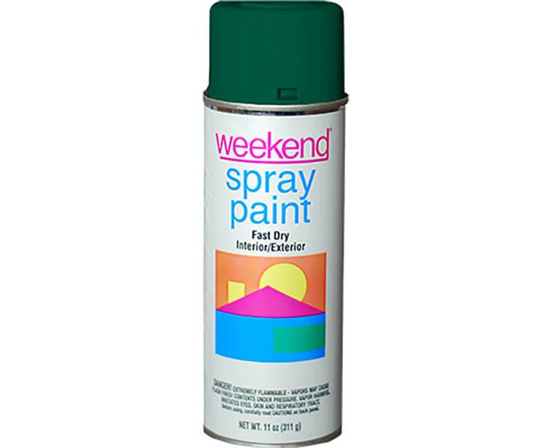 DIVERSIFIED BRANDS/KRYLON Krylon Weekend Forest Green Spray Paint
