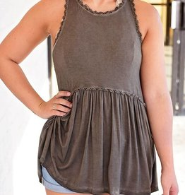 Hippie Girl Top - Chocolate
