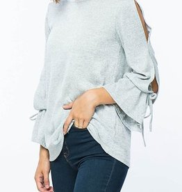 Pure Enchantment Top - H. Grey