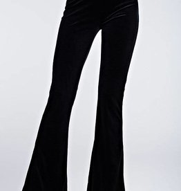 Choose Your Path Flared Pants - Black