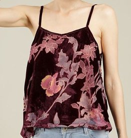 Casually Cool Cami - Burgundy