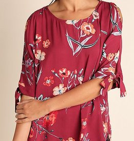 Longing for Love Tunic - Berry Mix