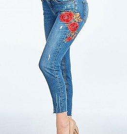 Feeling Inspired Jeans- Med Dark