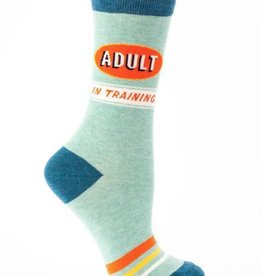 Adult in Training Crew Socks