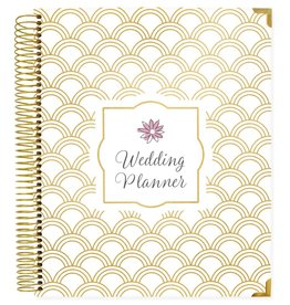 Wedding Planner - Gold Scallops