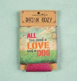 All You Need is Love & Dog - Coozie