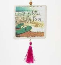 Tassel Air Fresh Life Better Flip