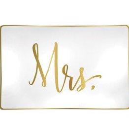 """Trinket Tray- """"Mrs."""""""