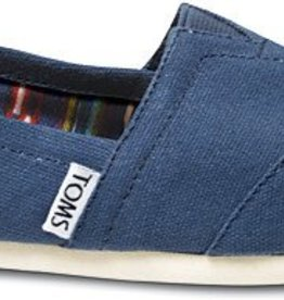 Classic Slip On Navy Canvas