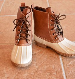 Jango Duck Boot  Beige
