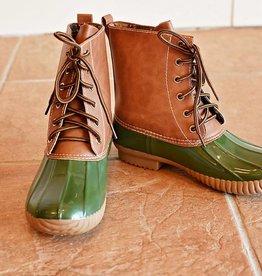 Jango Duck Boot  Olive