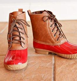 Jango Duck Boot Red