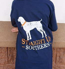 YOUTH SUS CLASSIC LOGO - SS - Navy