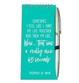 Notepad and Pen Set - 45 Seconds Green