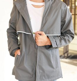 New Englander Rain Jacket - Grey