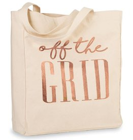Travel Canvas Tote- Off The Grid