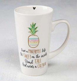 Latte Mug- A Pineapple Life