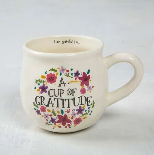 Happy Mug- A Cup Of Gratitude