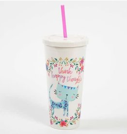 On The Go Cup- Think Happy