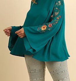 My Kind Of Party Top - Teal