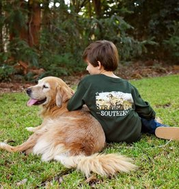 YOUTH- SUS Golden Retriever Scene-LS-Forest