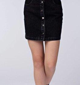 Modern Love Skirt- Vintage Black