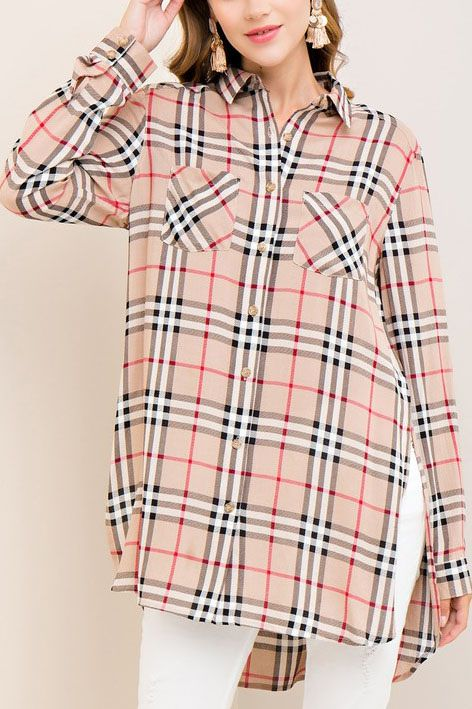 It Comes Naturally Tunic - Burberry