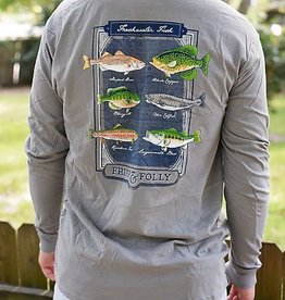 FF Freshwater Fish- LS - Grey