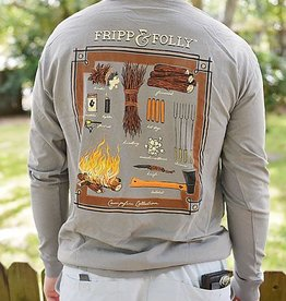 FF Campfire Collection- LS- Grey