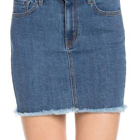 Ready For Fun Denim Skirt - Medium Wash